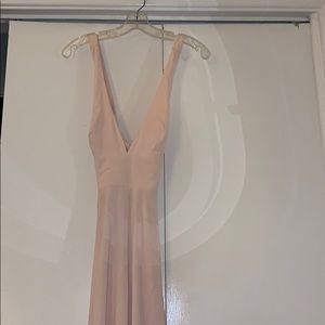 Forever 21 Blush evening gown